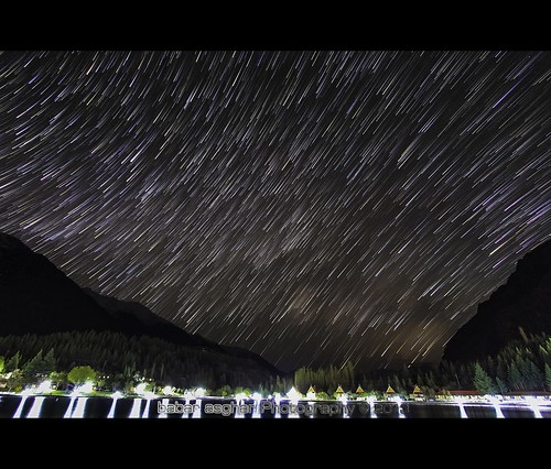 Comets Shower ... A Startrail