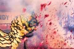 Explosion of Red (EXPLORE 02/17/13) (benchorizo) Tags: chicago nikon chinatown chinesefood explosion culture chinesenewyear firecrackers liondance chicagoist banias littlesaigon argylest d90 benchorizo explodingfirecrackers
