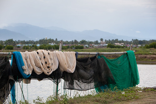 Photographs of Worldfish's aquaculture projects in the Aceh region of Indonesia - January 2012.