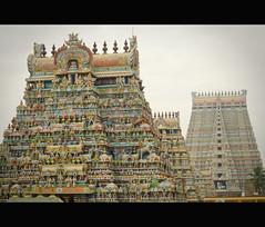 Srirangam (sureshs!) Tags: tower river island kaveri biggest ranga cauvery ranganathaswamy divyadesam ranganathar 108divyadesam srirangamisfamous srivaishnavites