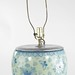 5039. Blue and White Porcelain Table Lamp