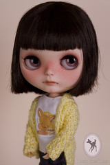 *Adopted* (-Poison Girl-) Tags: eye girl mouth hair nose eyes doll dolls cut chocolate 5 makeup carving tommy sleepy short blythe poison custom cocoa simply gaze takara licca poisongirl customs correction blythes faceup eyechips simplychocolate philtrum blythecustom gazecorrection