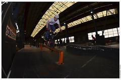 9 (matthew878) Tags: park ireland fish eye bike bicycle nose nikon bmx connor belfast ramps front fisheye skatepark skate trick nikkor northern peg grind jumps stunt 105mm worthington nosegrind acusa d5100
