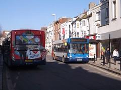 Worthing Buses (PD3.) Tags: uk england west bus buses downs sussex worthing south 300 alexander dennis pulse alx stagecoach lancing pdo enviro psv pcv adl durrington 33011 27676 dnj r711 gx60 alx300 worthingbrighton r711dnj gx60pdo