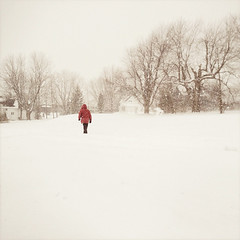 Winterman (Richard Pilon) Tags: winter snow ontario canada cornwall february iphone iphoneography hipstamatic