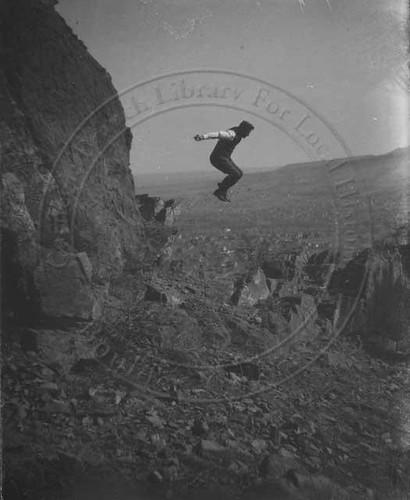 Photo - Historic photo of hiker at Sanitas