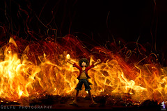 Monkey D. Luffy on fire (Gulfu) Tags: life longexposure hot anime canon fire 7d longshutter onfire kannal bulbmode monkeydluffy singlephoto gulfuphotography prasanthgulfu stillactionfigures bestofmonkeydluffy livelifelike