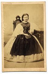 (ggaabboo) Tags: lady hungary unknown dame 1860s asztal szék gyarmathypálné