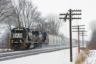 NS 6613, NS Chicago Line, Wawaka, Indiana