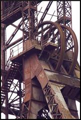 Molettes (Parkinsonian Sprayer) Tags: mine elevator coal shaft headframe charbonnage