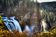 Snoqualmie Falls, WA. (Pastv4) Tags: green water rock stone landscape waterfall washington rocks sony cliffs filter greenery snoqualmiefalls washingtonstate hdr a77 carlzeiss polarizerfilter bwpolarizerfilter sonya77 slta77vq carlzeiss1635mmf28zassmlens