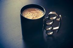 Knuckle Duster Mug (Jessica.Pace) Tags: coffee mug brassknuckles