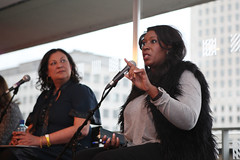 Your Own Personal Heatwave: India Knight and Angie Le Mar (Southbank Centre London) Tags: london wow southbank aging menopause southbankcentre secondhalf indiaknight angielemar katharinewhitehorn womenoftheworldfestival2013 jullshawruddock