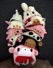 ( knitmad ) Tags: bear hat cat sheep hellokitty gloomybear cinamoroll knitmad lalatroop pei78