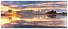 Bamburgh Castle Panorama (Sebastian Kraus) Tags: trees light sunset red sun green castle water grass rain yellow clouds sunrise scotland highlands rocks edinburgh view sebastian stones visit workshop loch bamburgh kraus lochan visitscotland takeaview sebastianito