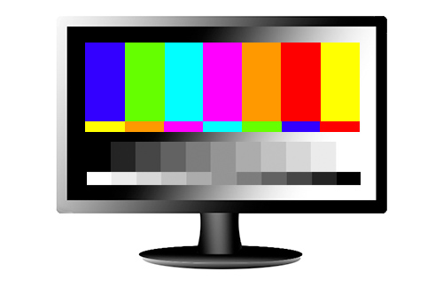 television tv screen monitor calibrate