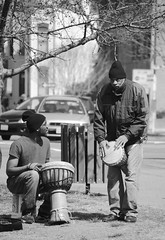 bongos (ekelly80) Tags: blackandwhite bw musicians drums washingtondc dc dcist capitolhill bongos streetmusicians welovedc march2013