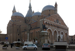 Basilica of Sant'Antonio di Padova (il Santo) with Donatello's Gattamelata