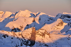 Rila's treasures (.:: Maya ::.) Tags: winter sunset mountain snow nature bulgaria rila peaks            slpenglow