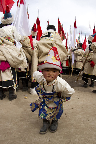 8011 The young star of the parade--Luqu , Gansu Province , China