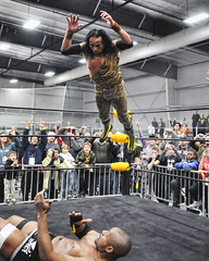 Superfly Snuka! (John Rothwell) Tags: sports action fort wrestling wayne jimmy indiana legends pro wwe wwf heros superfly snuka herosandlegends