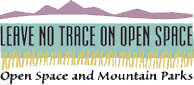 Photo - Leave No Trace on OSMP Logo