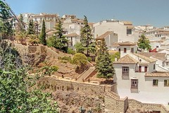 sometimes i wonder what it's like to live in a place like this (ivvy million) Tags: summer film architecture analog landscape spain europa europe andalucia espana ronda andalusia spanien ivvymillion