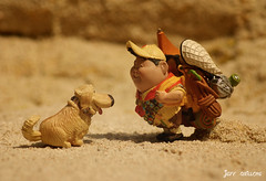 Russell and Dug (Clarkent78) Tags: up toy toys russell disney pixar dug toyphotography disneytoys clarkent78 jeffquillope toyphotographyaddict