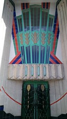 Hoover Building Front Door (Jon Southcoasting) Tags: architecture 1932 modernism westlondon a40 perivale hooverbuilding