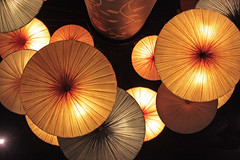 Entrancing (skipmoore) Tags: lighting hotel los angeles circles ceiling explore