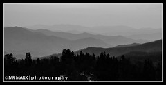 Layers of Ridges, Newfound Gap, Great Smoky Mountains National Park (MR MARK | photography) Tags: road winter bw mountain mountains nationalpark nc spring tn state nps tennessee north gap line hwy carolina layers 441 smokies ridges greatsmokymountains newfound gsmnp
