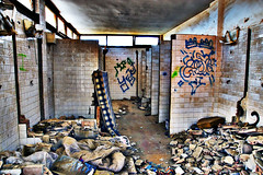 Toilets Interior (forayinto35mm) Tags: abandoned spain sony murcia derelict toilets rubble a77 bolnuevo abandonedtoilets southeastspain sonya77 sonyalpha77