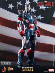 Figura Iron Man Patriot Movie Masterpiece Diecast (Acero y Magia) Tags: man movie iron patriot masterpiece diecast figura