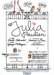 birth announcement card for Julia (March 23, 2013), part 2 (roelipilami) Tags: blue art illustration de tit graphic belgium drawing balcony balkon birth des announcement arbres card belgian wren common eurasian biglietto troglodyte greeting pimpelmees stork illustratie carte bleue chaffinch mignon vulgar geboortekaartje voeux wenskaart felicitacion tekening roel msange tarjeta pinson blaumeise buchfink grafisch ooievaar herrerillo comn vink zaunknig pinzn winterkoninkje grusskarte chochn dauguri renmans roelipilami