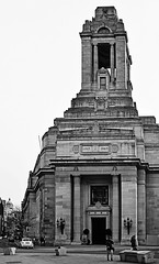 Holborn - United Grand Lodge of England (BW) (Nikon D7100) (markdbaynham) Tags: city england urban bw white black building london monochrome architecture digital nikon united capital grand lodge masonic cropped format dslr sensor dx ugle apsc d7100