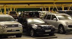 Parking Qatari - Qatari Parking Lot, Doha (blafond) Tags: cars licenseplate bmw licenseplates voitures doha qatar plaquedimmatriculation