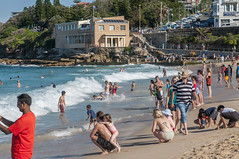 140413_0063 (amblerpix) Tags: blue beach clouds swimming fun surf day sunny australia bluesky newsouthwales swimmers tasmansea crowds sunbathing coogee lifeguards surfrescue autumnday coogeeslcclubhouse