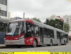 7 3811 - VIP unidade Guarapiranga (Emerson F.C.®) Tags: bus brasil sãopaulo mercedesbenz ônibus articulated brt busrapidtransit articulado o500uda
