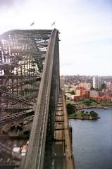 Feel on top of the world (KyLoRi) Tags: film tourism kodak harbour sydney australia nsw sydneyharbour gakkenflex