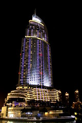 Address in the dark (Fintrvlr) Tags: night hotel dubai uae highrise scyscraper efs1855 burdubai dubaimall theaddress canoneos1100d