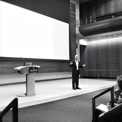 Watching an old friend talk at @umich #giversandtaker #book #speach #publicspeaking #killingit! (bryan elkus) Tags: square squareformat iphoneography instagramapp uploaded:by=instagram