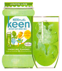 1965 KEEN Lemon Lime (gregg_koenig) Tags: old vintage lemon mix 60s drink 1960s lime nestle 1965 keen