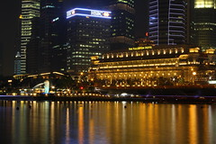 The Fullerton Hotel (thestreetcat) Tags: longexposure nightphotography photography lowlight singapore thefullertonhotel