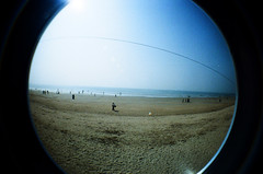 Chowpatty (raspberry dolly) Tags: india film lomography fisheye mumbai lomofisheye