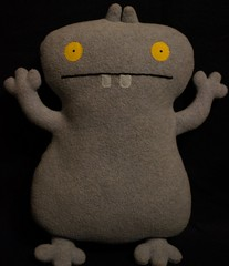 Uglydoll Handmade David Horvath and Sun Min - Babo (early test) (jcwage) Tags: giantrobot doll handmade ox ugly target gr uglydoll rare uglydolls icebat babo jeero horvath cinko davidhorvath sunminkim sunmin wedghead uglycon original100