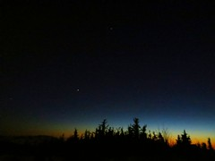 Night sky above anchorage just after sunset (stacirandy) Tags: alaska night ak anchorage