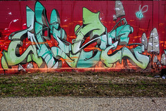 Lettrage by Wise ! (Stphane LANDMANN) Tags: wise wiseoner street graff graffiti graffeur artiste art streetart peintre peinture extrieur downtowngraffiti spray surraliste texte