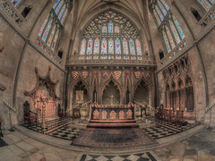Bristol Cathedral u.k england (Wizard CG) Tags: bristol cathedral black white architecture gothic college green olympus epl7 ngc world trekker micro four thirds 43 m43 mzuiko digital ed tourist attraction uk outdoor hdr fisheye