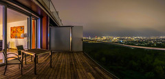Night over Vienna (MrProd) Tags: vienna wien austria sterreich europe art outdoor city urban hour nikon d7200 dslr lights light available night kahlenberg suite hotel skyline sky pano panorama tokina 1116 uwa wide