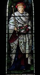 St Elizabeth of Hungary (Aidan McRae Thomson) Tags: lichfield church staffordshire stainedglass window preraphaelite morrisco johnhenrydearle